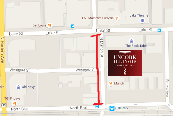 Uncork Map