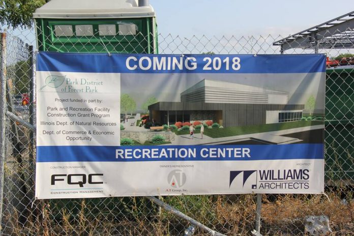 $6 Million Roos Rec Center in Forest Park Set for Late May
